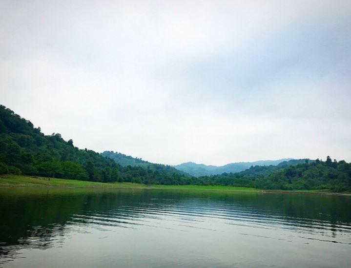 Lake of Shiyadeh Dam.JPG