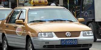 تاکسی سواری در شانگهای