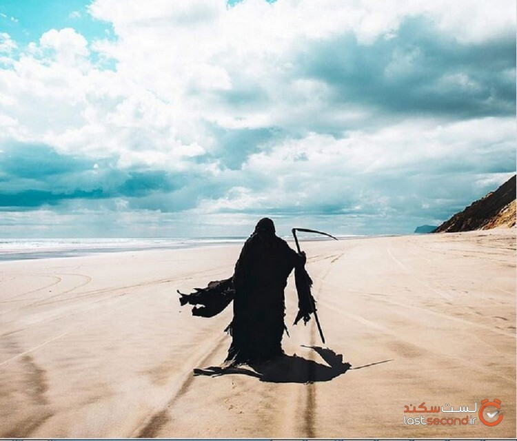 فرشته ی مرگی که در سواحل، انتظار آدم ها را می کشد!