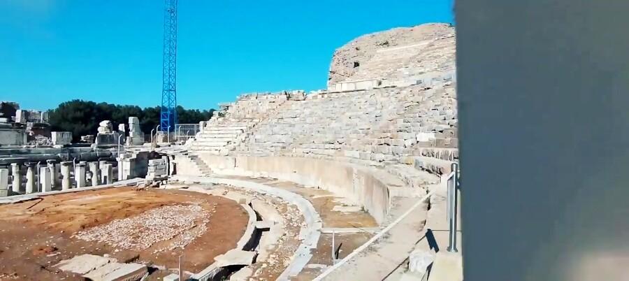 افسوس قدیمی ترین شهر کامل به جا مانده از رومیان