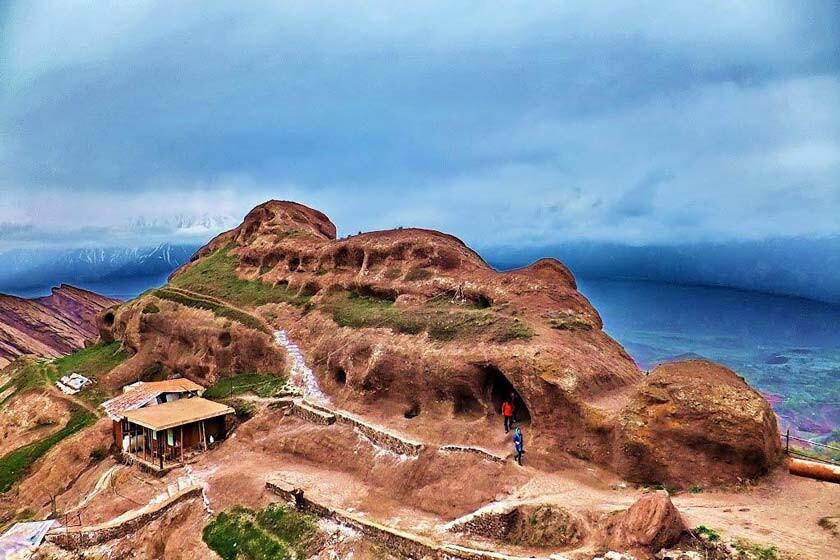 گازرخان میزبان دره بی مثال گرماگلو در قزوین