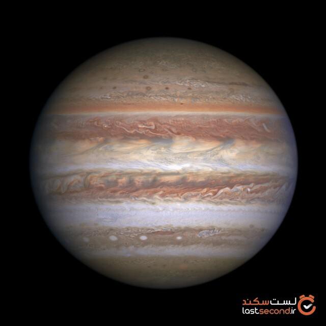 دانشمندان عکس جدید گرفتهشده سیاره مشتری، از زمین را فاش میکنند.