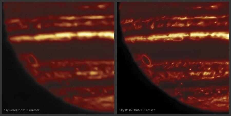دانشمندان با عکس جدید سیاره مشتری راز معمای آن را فاش کردند!