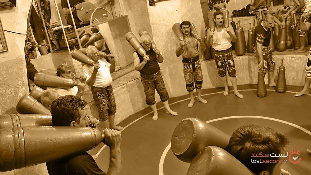زورخانه بیژن کرمانشاه، مروری کوتاه بر ورزشهای زورخانه ای