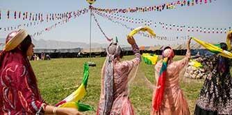 دعوتید به عروسی قشقائی (آبشار سمیرم، بی بی سیدان و آب ملخ)
