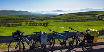 سفری کوتاه با دوچرخه به روستای گوینیک