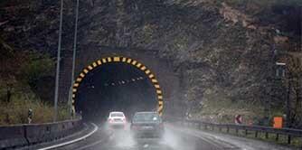 رانندگی دیوانه وار در جاده هراز
