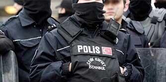 درگیری با پلیس در استانبول