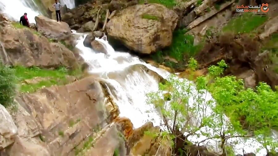 آبشار طوف کما در شمال خوزستان