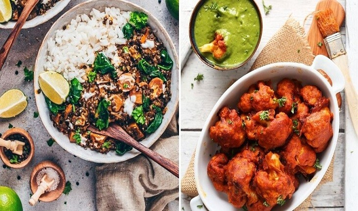 غذاهای هندی و دوستی دیرینه شان با گیاهخواران!
