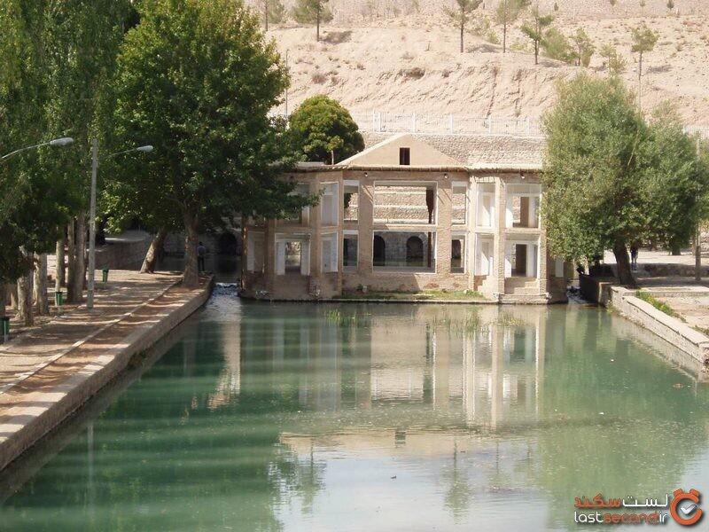 چشمه علی، عمارت رویایی قاجاری دامغان