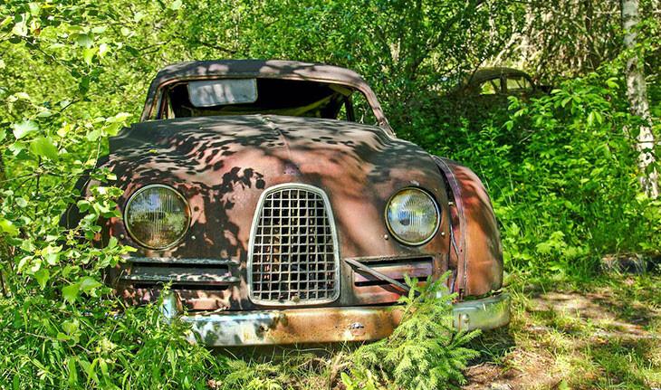 گورستان ماشین سوئد، زیباترین محوطه شهری که تا به حال دیده اید!