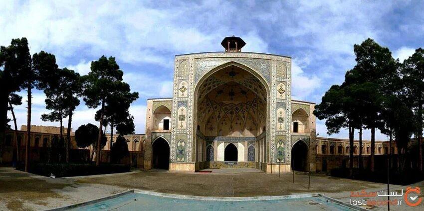 سلطانی مسجد معروف سمنان