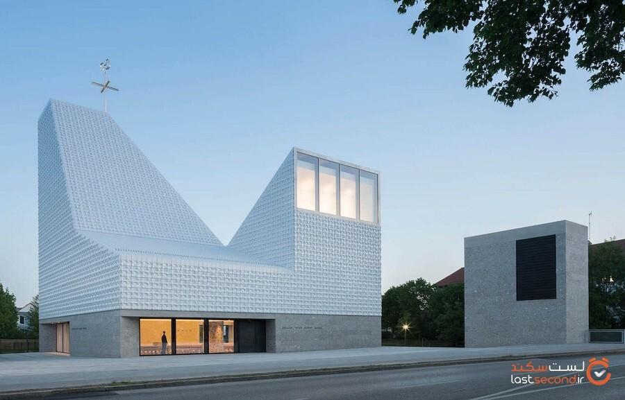 کلیساهایی که پذیرای معماری مدرن هستند
