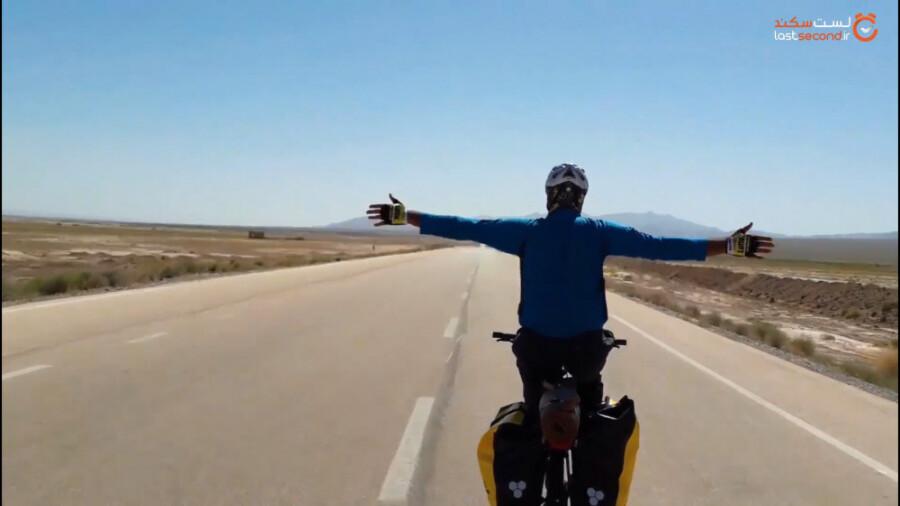 سفر با دوچرخه به دل تاریخ خراسان شمالی