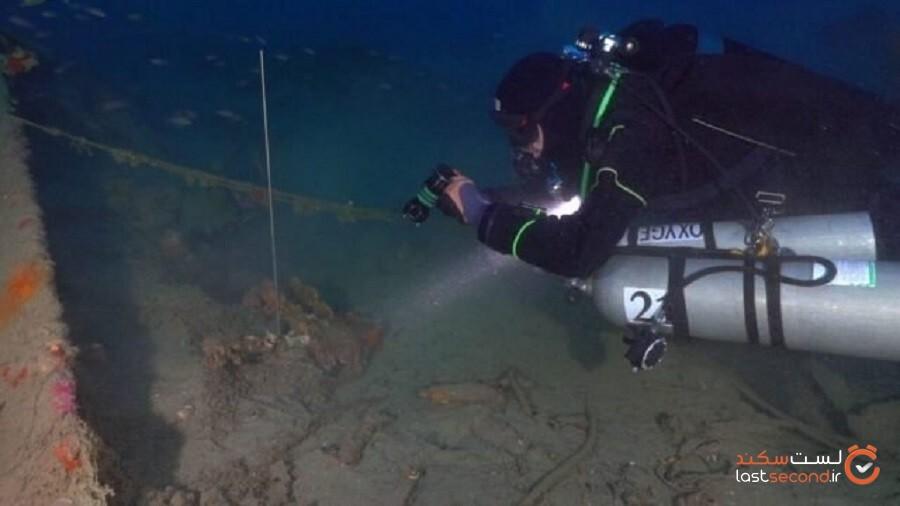 کشف شورانگیز تکههای یکی از بزرگترین کشتیهای قرن شانزدهم