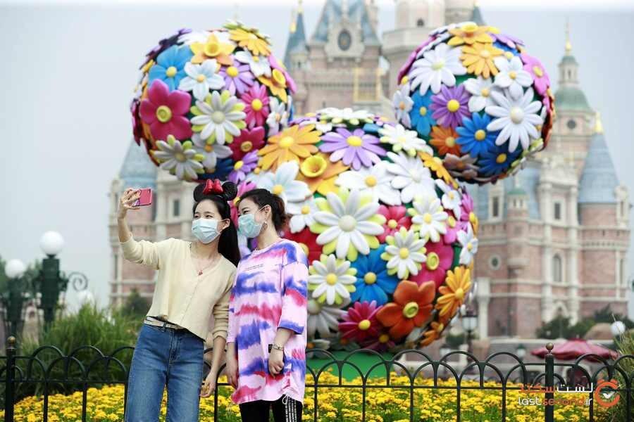 پارک دیزنی توکیو پس از ۴ ماه تعطیلی به دلیل کروناویروس، بازگشایی شد.
