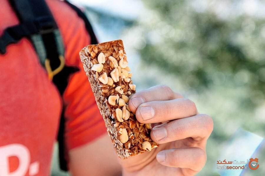 این غذاهای انرژیزا را باید در کولهپشتی پیادهروی خود قرار دهید