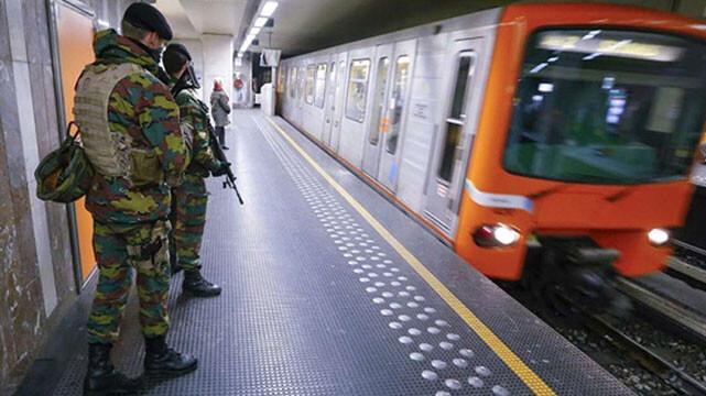 وحشت در ایستگاه مترو بروکسل
