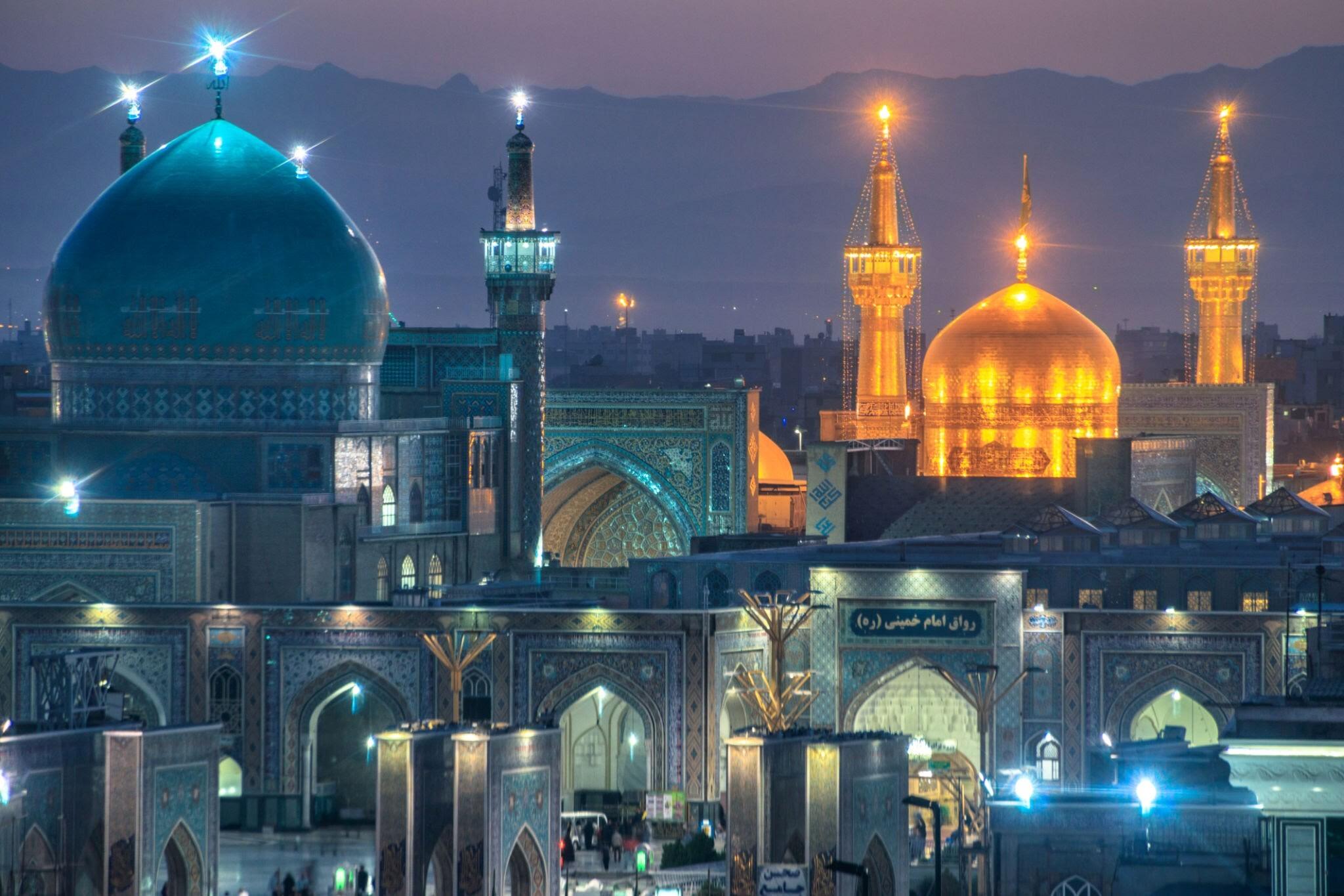 برنامه سفر 4 روز به مشهد