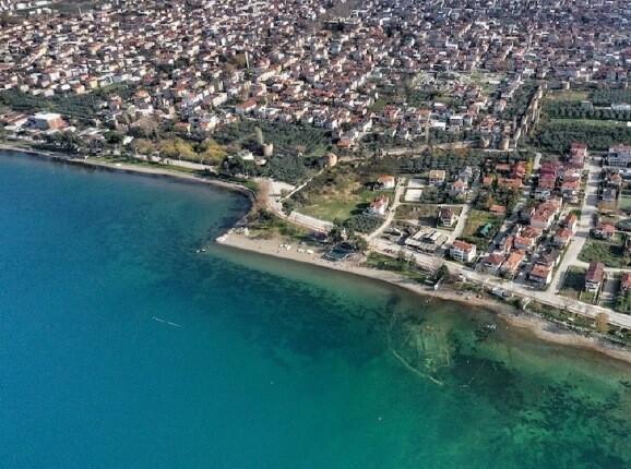 کلیسای باستانی 1600 ساله، در اعماق دریاچه ایزنیک یافت شد!