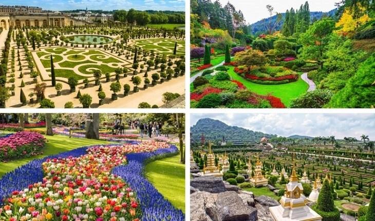 خیره کننده ترین باغ ها در سراسر جهان که هرگز ندیده اید!