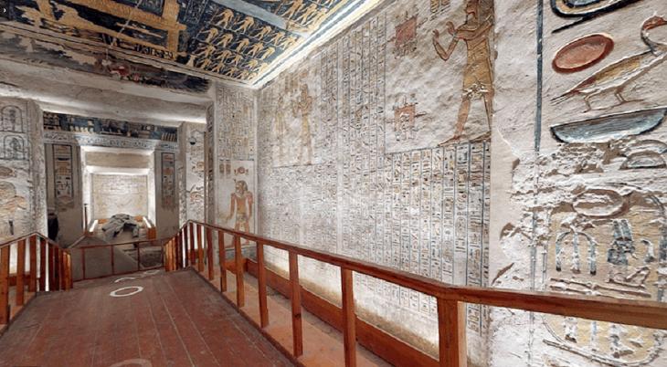 این تور مجازی شما را به بازدید از معبد فراعنه در مصر می برد!