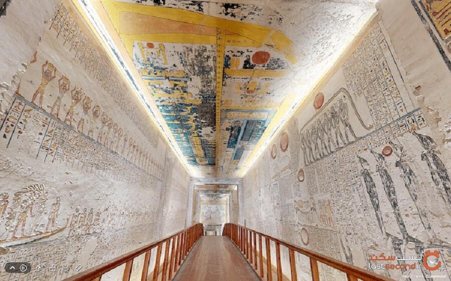 این تور مجازی شما را به بازدید از یک معبد فراعنه در مصر میبرد