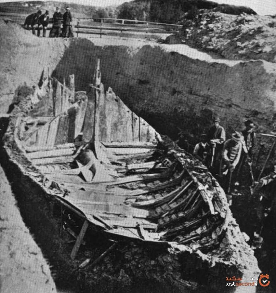 نروژ پس از صدسال، کار بیرونآوری نخستین کشتی عظیمالجثه وایکینگی را آغاز میکند
