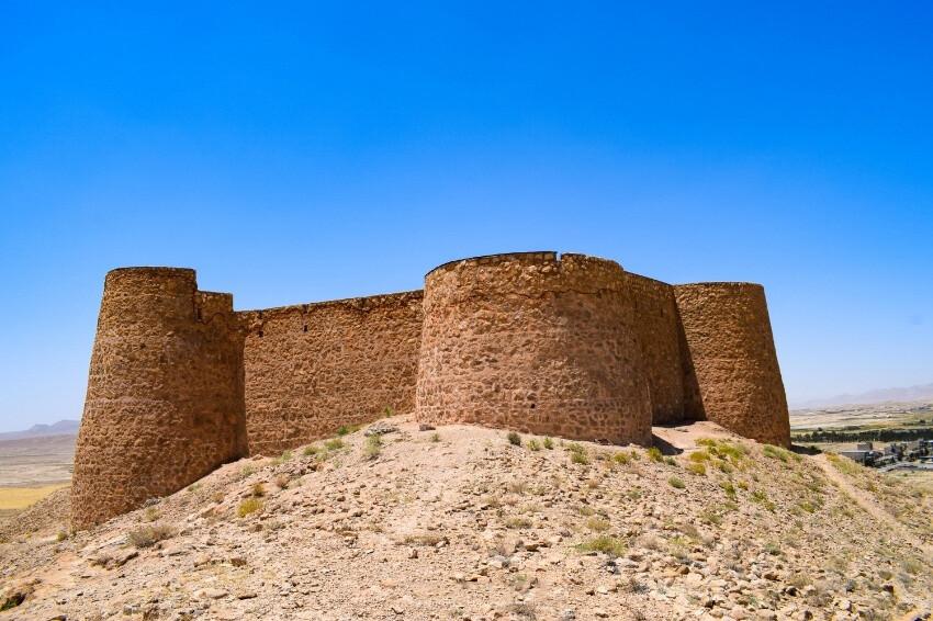 قلعه جلال الدین، قلعه نظامی پر صلابت گرمه در خراسان شمالی