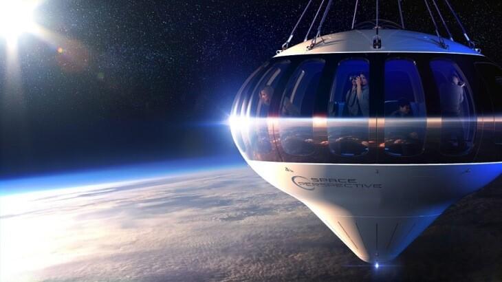 این کشتی فضایی عجیب می تواند هرکسی را به فضا ببرد!