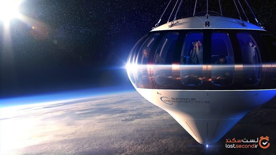 این کشتی فضایی می تواند شما را هم به فضا ببرد!
