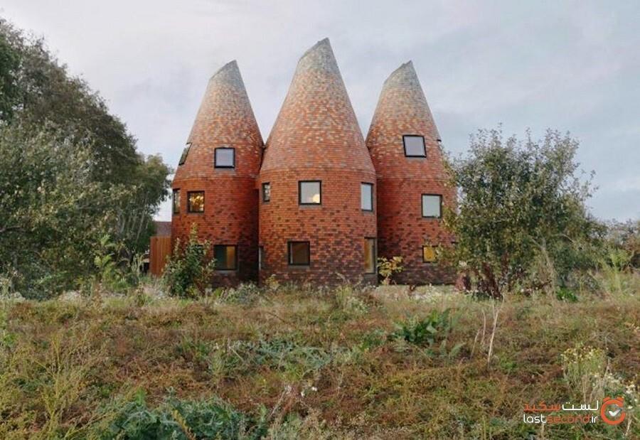 خانههای اوست: شگفتانگیزترین ساختمانها در تمام انگلیس!