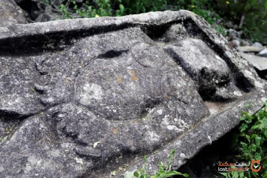 ویرانههای محل تشریفات و مراسم قوم باستانی