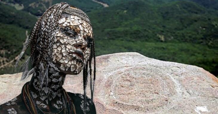"""ویرانه های مراسم قوم باستانی """"مردم ابری"""" در ارتفاعات مکزیک کشف شد!"""