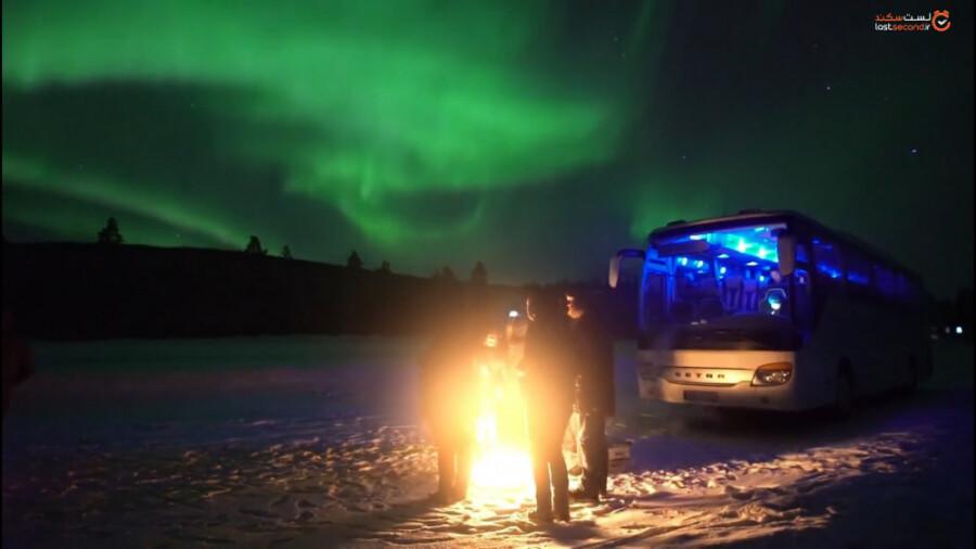 شفق قطبی ، زیباترین پدیده در شمالی ترین نقطه زمین