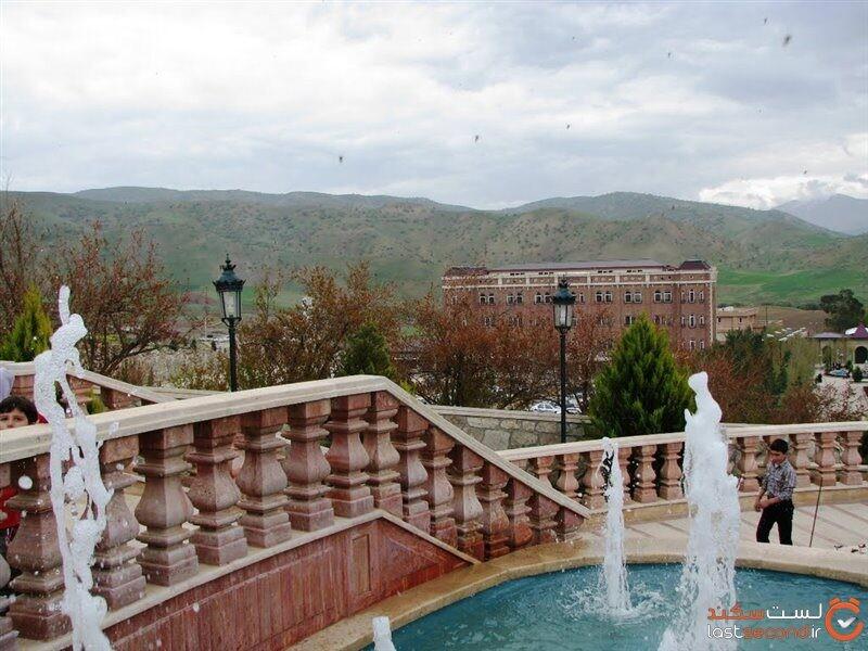 روستای گره بان، خانه های با طراحی روسی در کرمانشاه