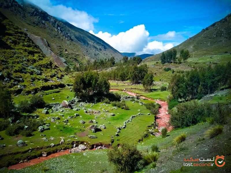 رودخانه خیرهکننده سرخ در پرو