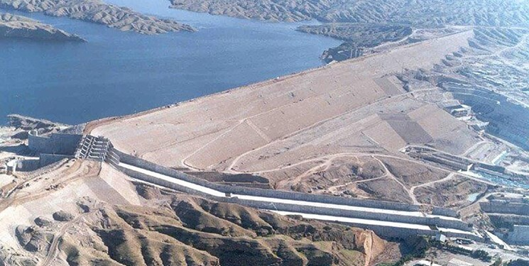 Karkheh Dam andimeshk