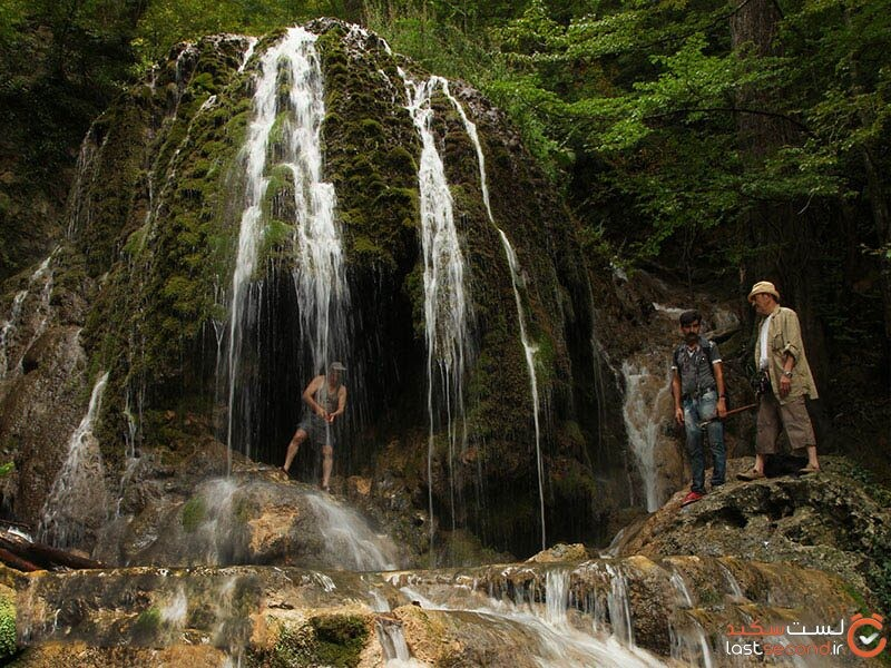 آبشار اسپه او، الماس بی مثال مازندران