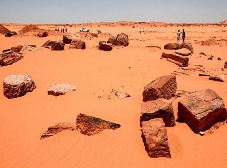 طلاجویان محل 2000 ساله میراث فرهنگی پادشاهی کوش در سودان را تخریب کردند!