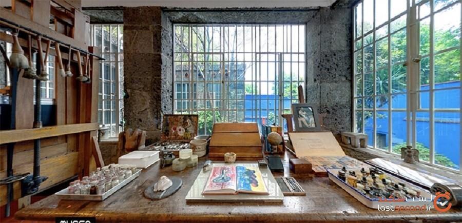 خانه آبی فریدا کالو از طریق تور موزههای جذاب مجازی را کاوش میکند