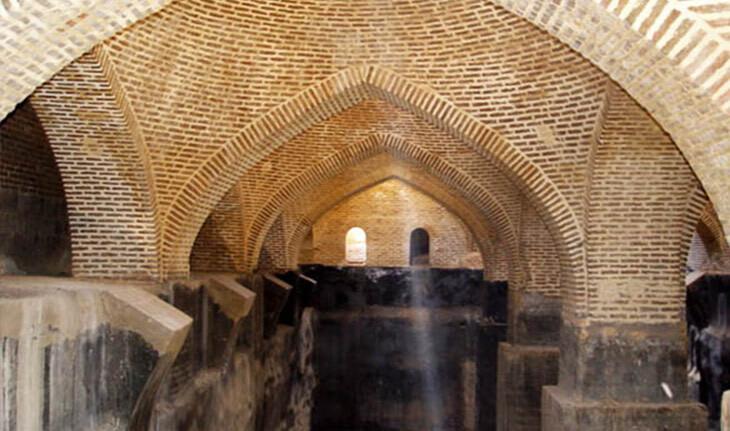 آب انبار زنانه بازار قزوین، یادگار دوران ناصرالدین شاه!