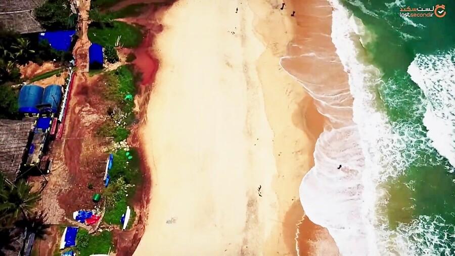 زیباترین ساحل ایالت کرالا