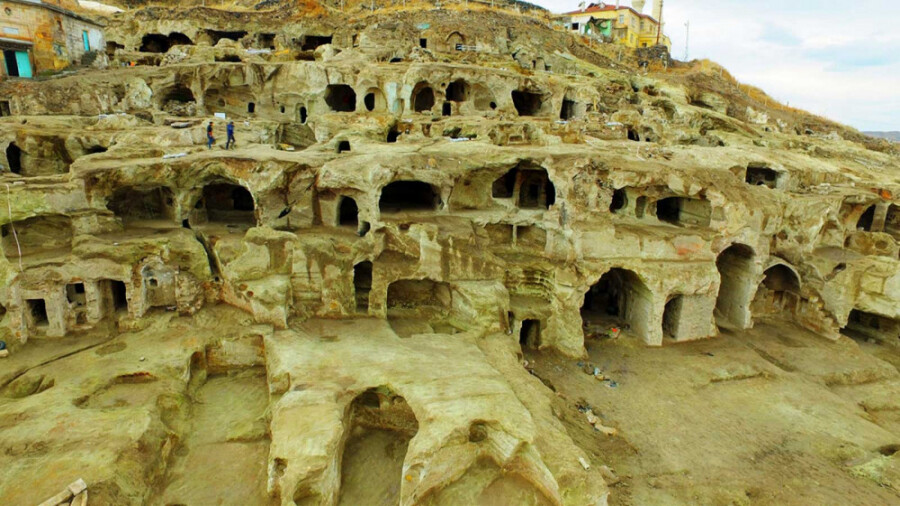 شهر مخفی زیر زمینی در کاپادوکیا