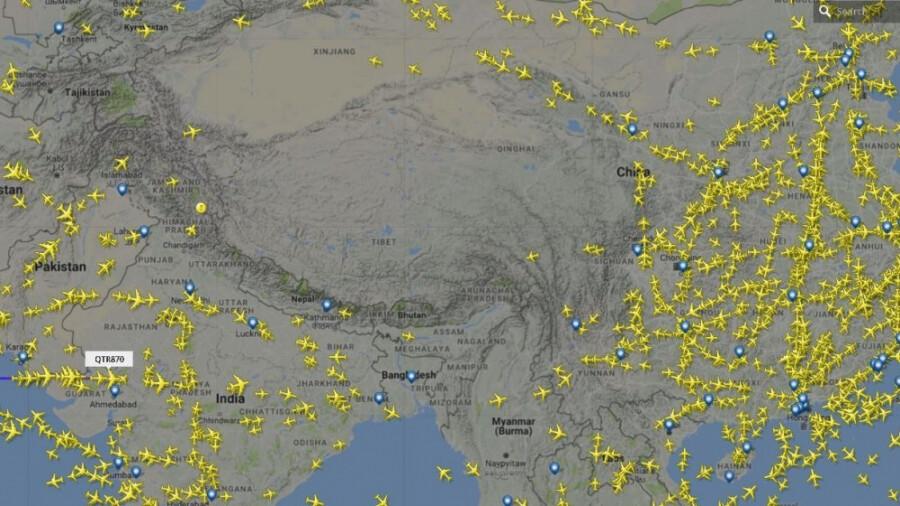 چرا هواپیماها بر فراز تبت پرواز نمیکنند?