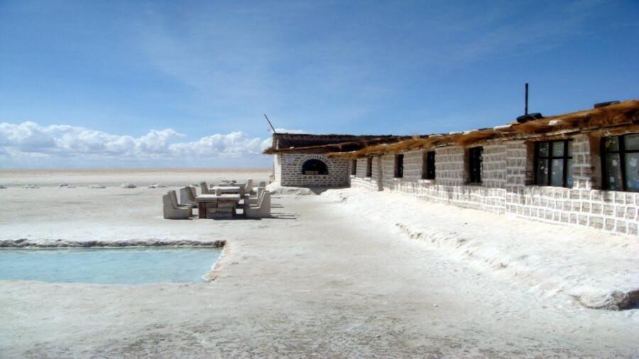 این هتل از نمک ساخته شده است!