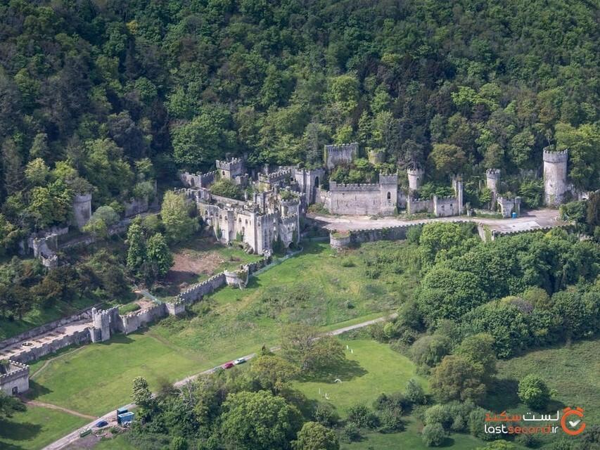 گردشی در قلعه طلسم شده گوریچ در ولز شمالی!