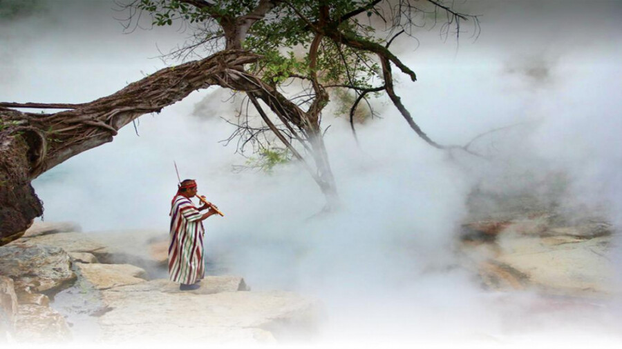 رودخانه ای جوشان  که موجودات زنده را آب پز می کند!