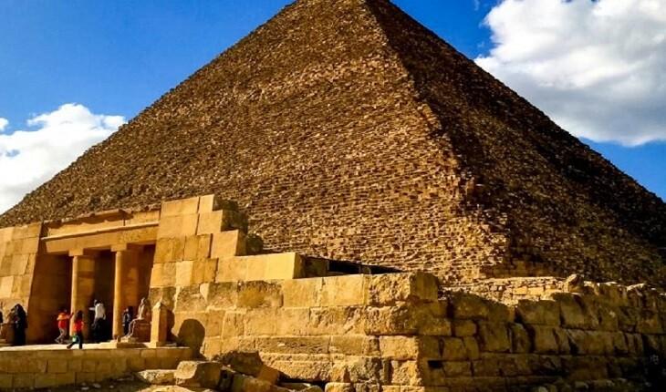 کشفیات عجیب باستان شناسان درباره یک هرم!